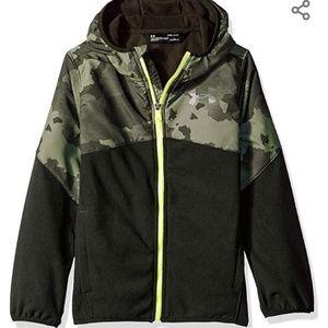 🆕️ Under Armour Boy's North Rim Printed Jacket